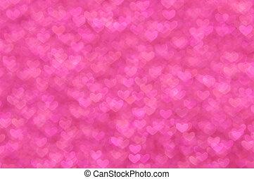 defocused , αφαιρώ , ροζ , αγάπη , ελαφρείς , φόντο