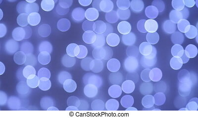 Defocused abstract blue background