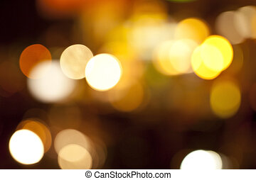 Defocused abstract colorful lights
