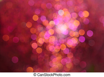 abstract multicolored bokeh christmas lights