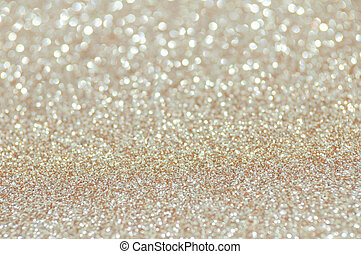 pale gold glitter christmas abstract background