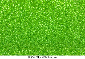 defocused, abstrakt, grønnes lys, baggrund