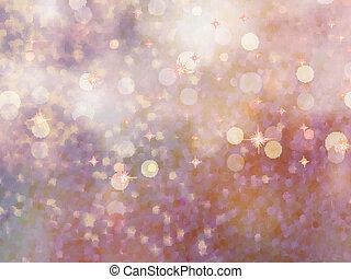 defocused, beidge, lights., glitter., eps, 10