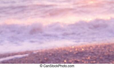 Defocused Blurred Sea.