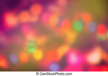 Defocused concert lighting. Blur background abstract festival