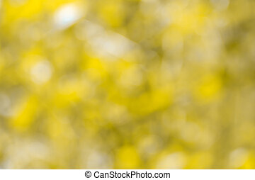 Defocused gold abstract background