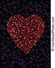 Defocused heart