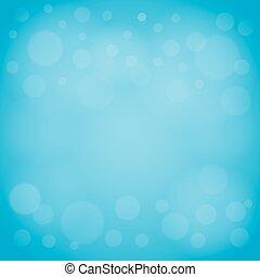 defocused lights blue abstract bokeh background