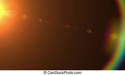 Defocused motion of the sunbeam HD 1920x1080
