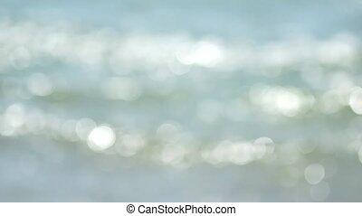 Defocused sea background