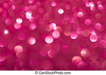 Defocused Vintage shiny lights Christmas Bokeh...