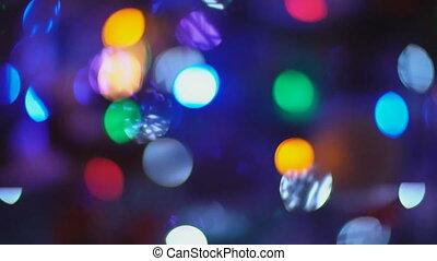 defocusing christmas tree