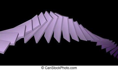 deform square card papers math geometry array,conveyor belt...