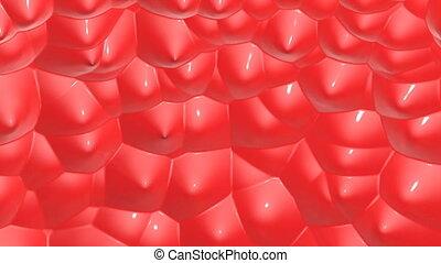 deformable, surface., dreidimensional, render, 3d
