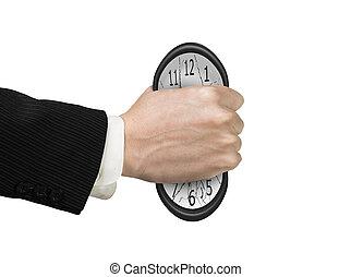 deformation., 時計, 急に動かなくなる, 十分, 手, time., ない, 人, 原因