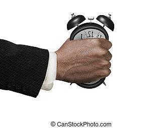 deformation., 時計, 警報, 急に動かなくなる, 十分, 手, time., ない, 原因