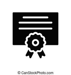 degree  glyph flat icon