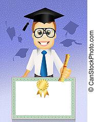 Degree - illustration of degree