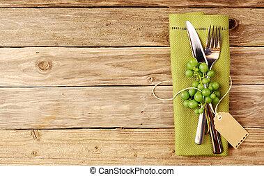 degustação vinho, cutelaria