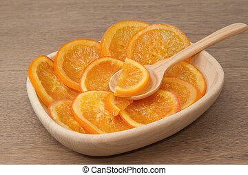 Dehydrated Dried orange