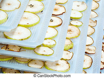 Dehydrated fruits - Detailed photo of home made dehydrated...