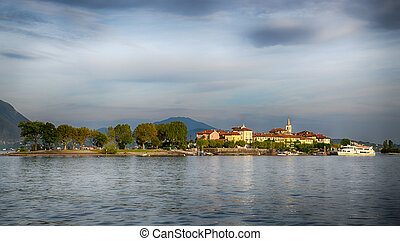 dei,  -, italia,  pescatori,  Isola