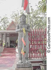 Deity statues