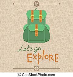 dejarnos, ir, explorar