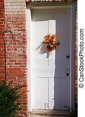 dekoráció, 2, ajtó