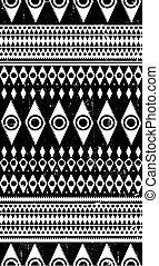 dekoracyjny, dekoracyjny, zakłopotany, próbka, plemienny, seamless, aztek, tekstylny, etniczny, pasiasty, sędziwy