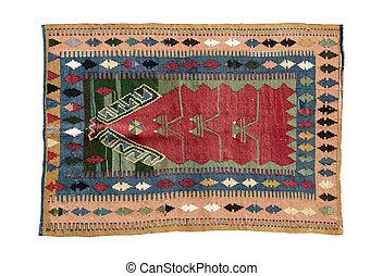 dekoracyjny, kilim, turecki