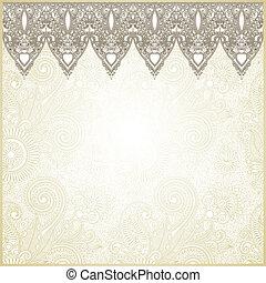 dekoracyjny, seamless, pas