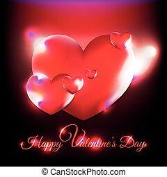 dekoracyjny, valentines dzień, tło