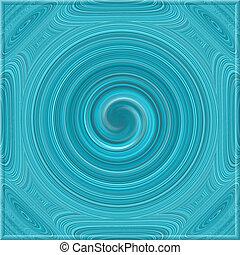 dekoracyjny, wzorzysty, spirala, struktura