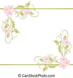 dekoratív, díszítés