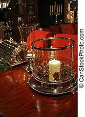 dekoration, abend