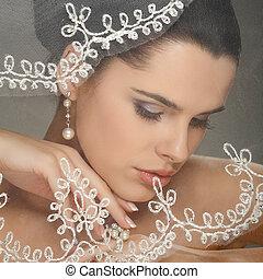 dekoration, bröllop