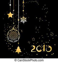 dekoration, design, weihnachten, dein