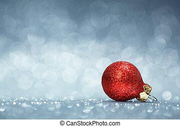 dekoration, jul, bakgrund