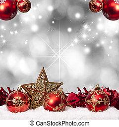 dekoration, kapitalen, traditionell, jul, lov