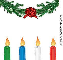 dekoration stechpalme zweige weihnachten schleife. Black Bedroom Furniture Sets. Home Design Ideas