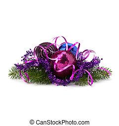 dekoration, kugel, weihnachten