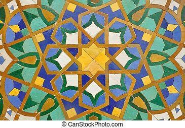 Dekoration marokko casablanca orientalische mosaik - Dekoration mosaik ...