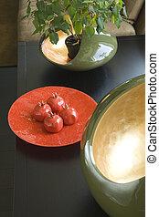 dekorationen, tisch