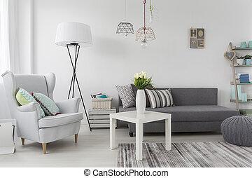 dekorationer, rum, kvindelig