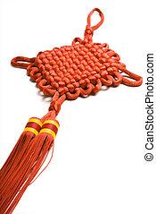 dekorativ, knots, chinesisches