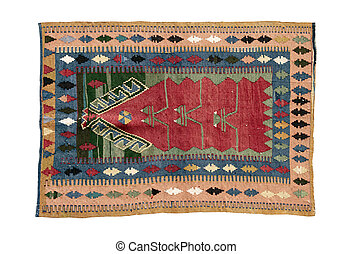 dekorativ, teppich, türkisch