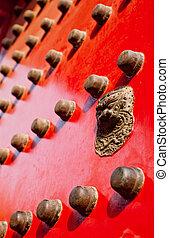 dekorativ, tor, orientalische