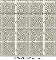 dekorativ, vektor, pattern., seamless