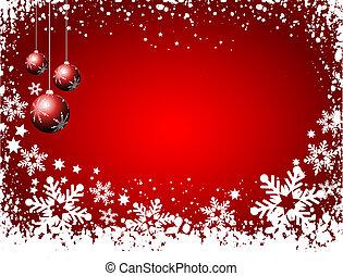 dekorativ, weihnachten, hintergrund